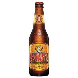 Cerveja Devassa Tropical Lager long neck 355 ml