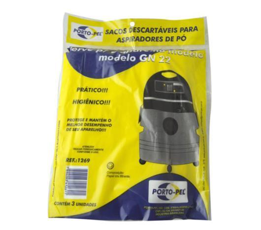 Saco para aspirador de pó Porto Pel Modelo GN 22 - Imagem em destaque