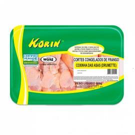 Coxinha da asa Korin de frango congelada 600g