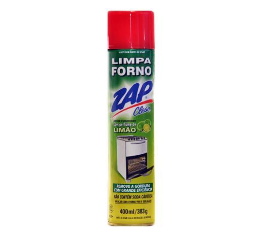 Limpa Zap Clean forno limão aerosol 400ml - Imagem em destaque
