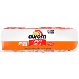 Costela Aurora suína congelada 1kg