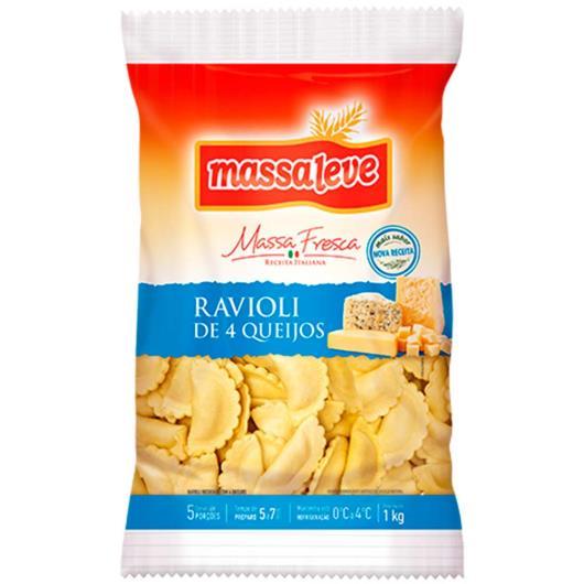 Ravioli 4 queijos Massa Leve 1kg - Imagem em destaque