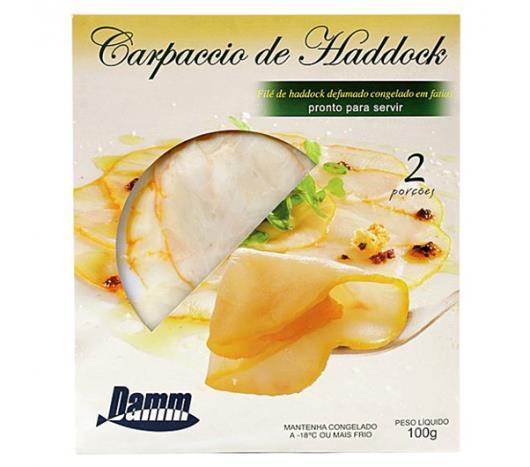 Carpaccio desfiado fatiado Damm Haddock Fat 100g - Imagem em destaque