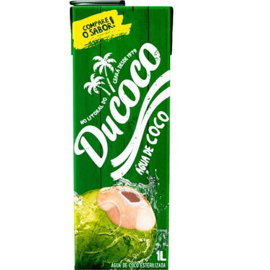 Água de Coco Ducoco Zero Gordura TP 1L - Imagem em destaque