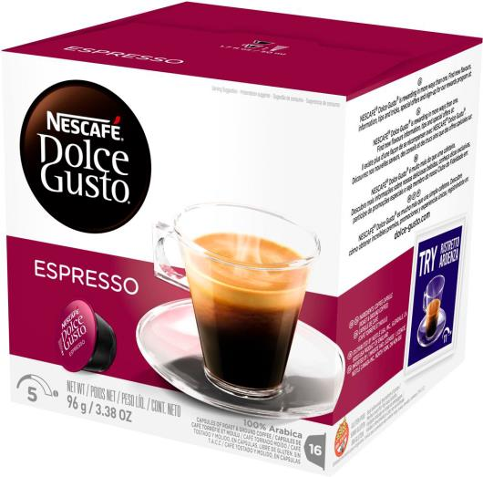 Cápsulas de Café Nescafé Dolce Gusto Espresso 96g - Imagem em destaque