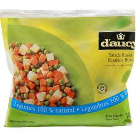 Salada Russa Congelada D'aucy 300g