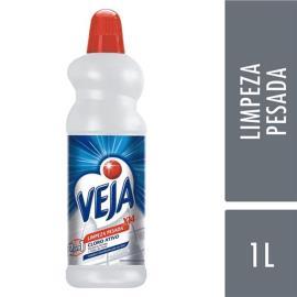 Limpador Veja limpeza pesada cloro ativo 1L