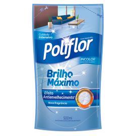 Cera Poliflor incolor máximo brilho embalagem econômica 500ml