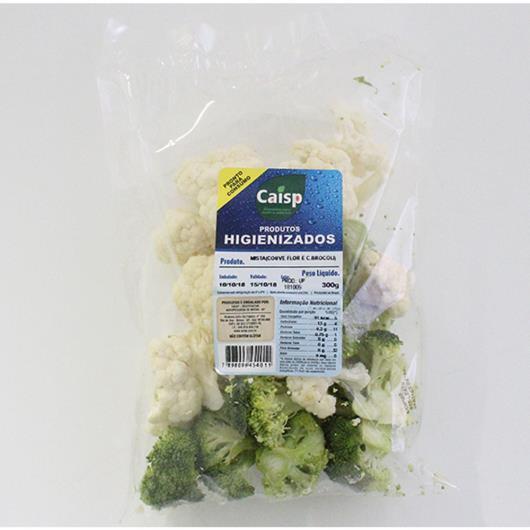 Mista Couve flor e brócolis Caisp higienizado 250g - Imagem em destaque