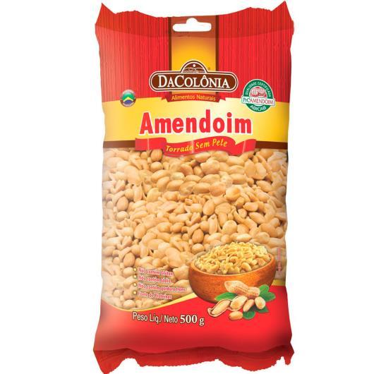 Amendoim DaColônia Torrado sem Pele 500g - Imagem em destaque