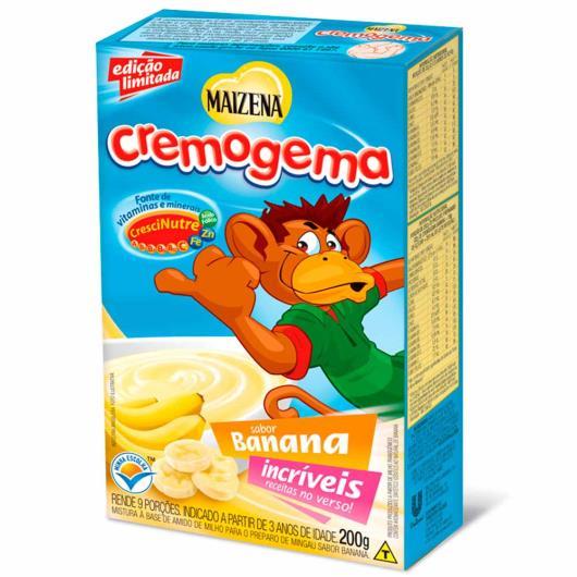 Cremogema Maizena sabor banana 200g - Imagem em destaque
