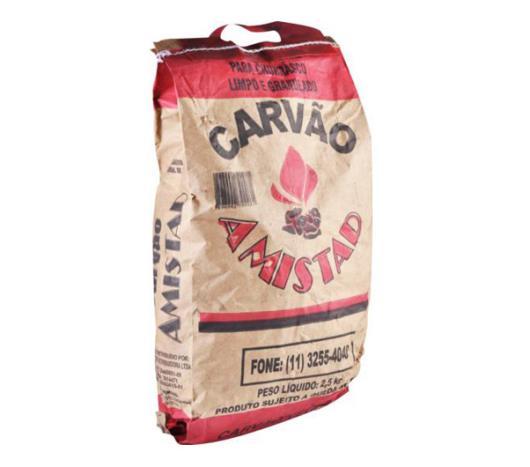 Carvão Amistad  vegetal 2,5kg - Imagem em destaque
