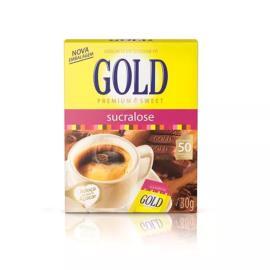Adoçante Gold Premium Sweet em Pó Sucralose c/ 50 Env 30g