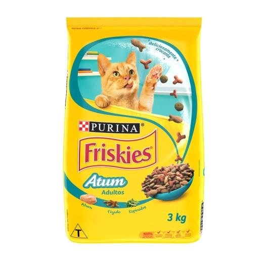 Ração para gatos Friskies Adulto Atum 3kg - Imagem em destaque