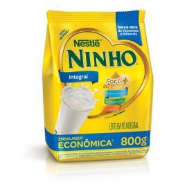 Leite em pó Nestlé integral NINHO Forti+ 800g