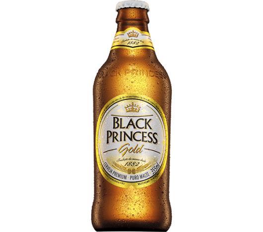 Cerveja Black Princess gold long neck 355ml - Imagem em destaque