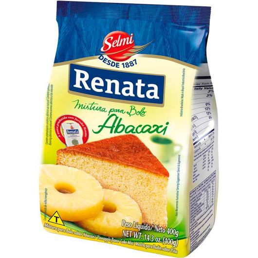 Mistura para bolo Renata sabor abacaxi 400g - Imagem em destaque