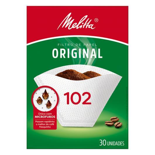 Coador de papel Melitta médio 102 com 30 unidades  - Imagem em destaque
