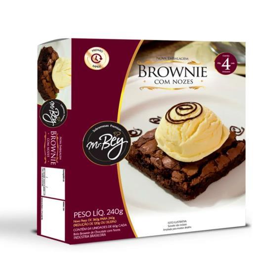 Brownie Mr.Bey com nozes 240g - Imagem em destaque