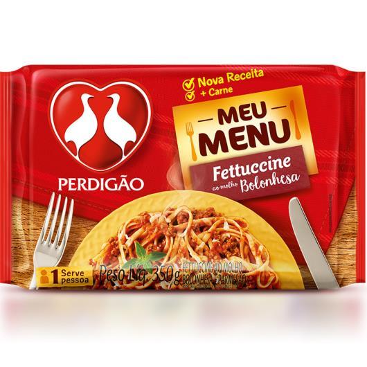Fettuccine ao molho bolonhesa Perdigão 350g - Imagem em destaque