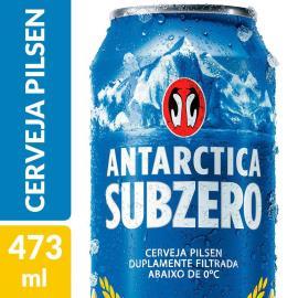 Cerveja Antarctica sub zero lata 473ml
