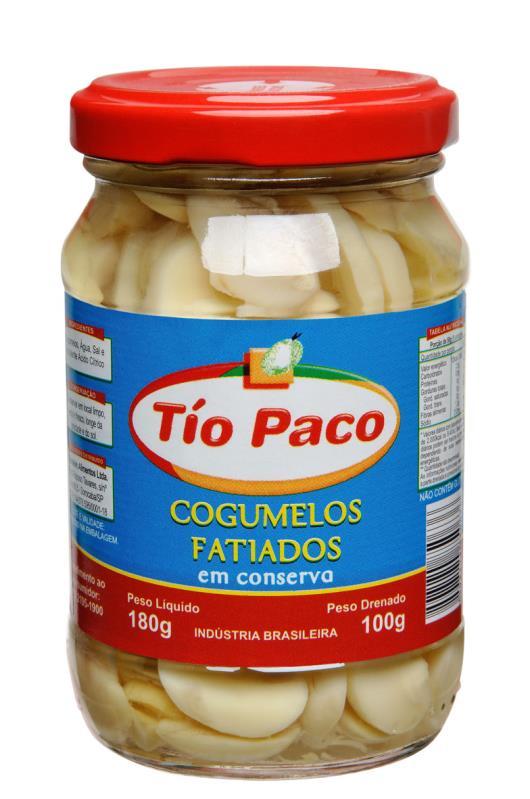 Cogumelo Tío Paco em conserva fatiado 100g - Imagem em destaque
