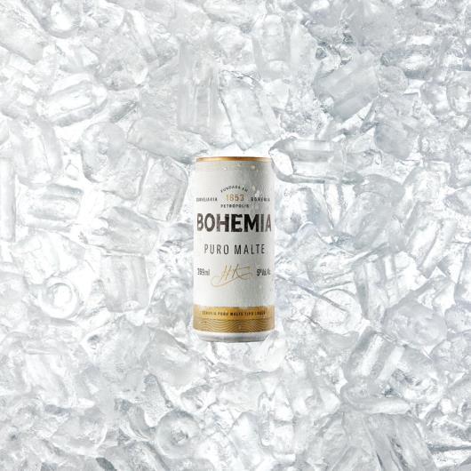 Cerveja Bohemia puro malte 269ml - Imagem em destaque