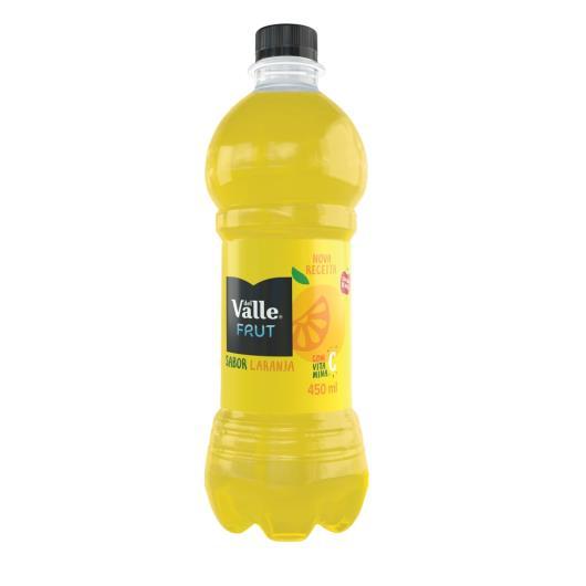 Suco Del Valle Frut Sabor Laranja PET 450ML - Imagem em destaque