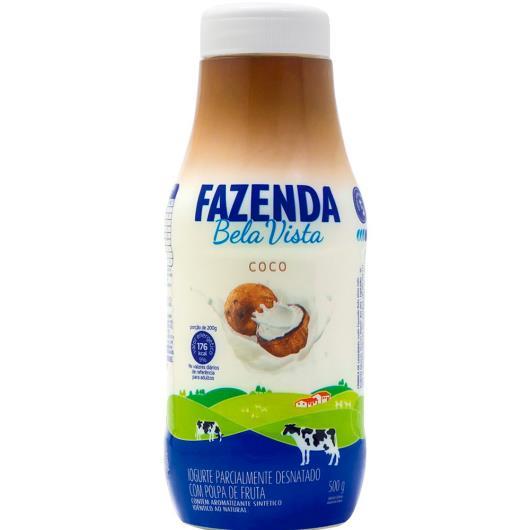 Iogurte Líquido Fazenda Boa Vista  Sabor Coco 500g - Imagem em destaque