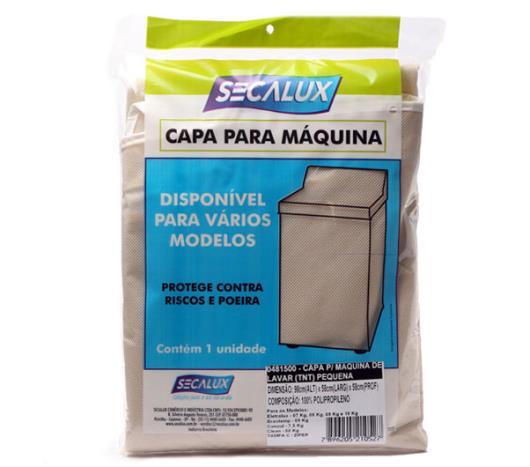 Capa para máquina de lavar Secalux TNT pequena  - Imagem em destaque