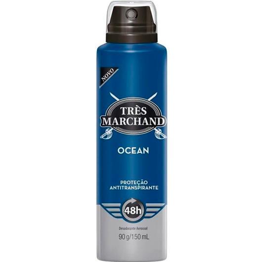 Desodorante Très Marchand aerossol ocean 150ml - Imagem em destaque