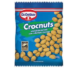 Amendoim crocnuts torrado Oetker 100g