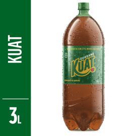Refrigerante Kuat guaraná pet 3L