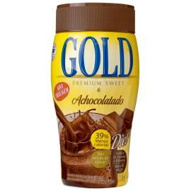 Achocolatado em pó vitaminado Gold Pote 210g