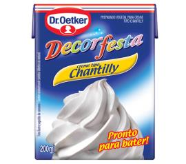 Chantilly Oetker decorfesta 200ml