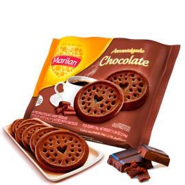 Biscoito Amanteigado chocolate  Marilan 330g