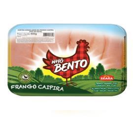 Filé de peito de frango congelado Nhô Bento 600 g