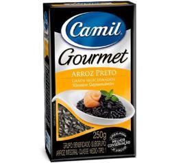 Arroz Camil premium preto 250 g