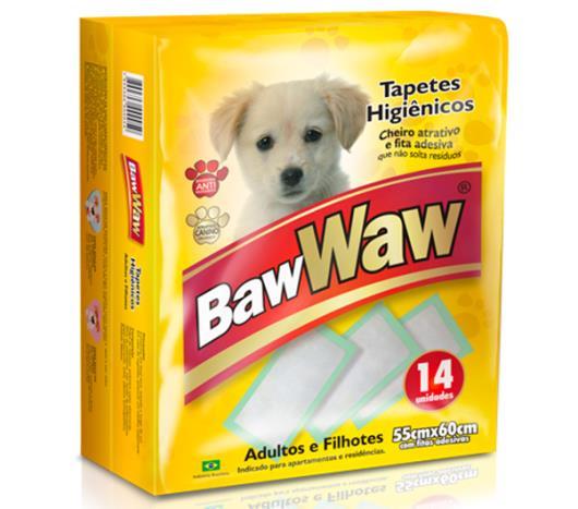 Tapete higiênico para cães Baw Waw 14 unidades  - Imagem em destaque