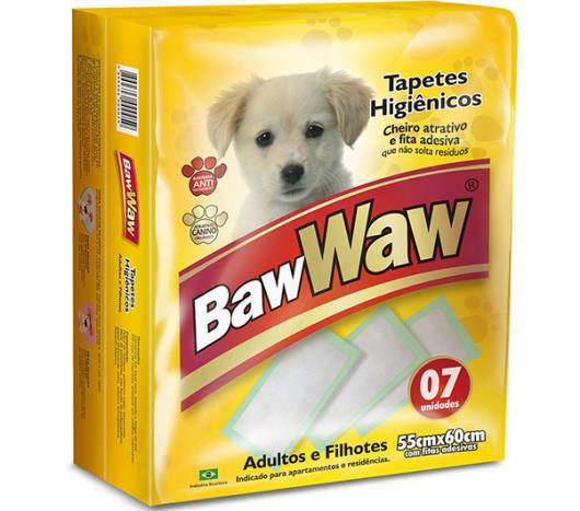 Tapete higiênico para cães Baw Waw 7 unidades  - Imagem em destaque