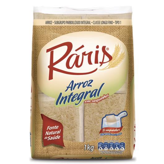 Arroz Integral Parboilizado Ráris Saquinhos 1kg - Imagem em destaque