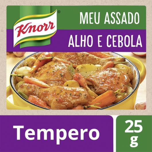 Tempero Knorr Meu Assado Alho e Cebola 25g - Imagem em destaque