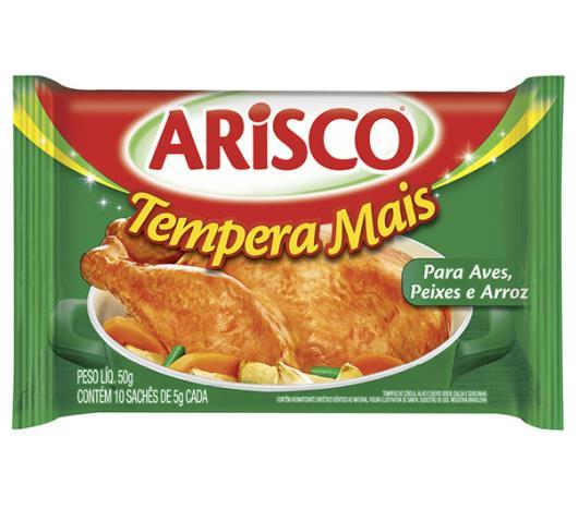 Tempero Arisco de aves, peixes, arroz 50g - Imagem em destaque