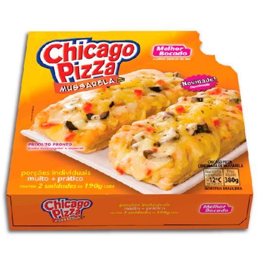 Pizza chicago sabor mussarela Melhor Bocado  380 g - Imagem em destaque