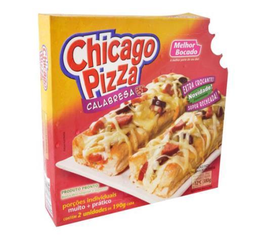 Pizza chicago sabor calabresa Melhor Bocado 380g - Imagem em destaque