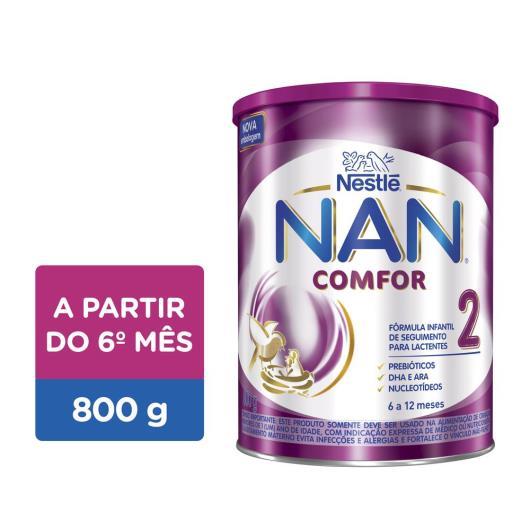 Fórmula infantil Nestlé Nan Comfor 2 800g - Imagem em destaque