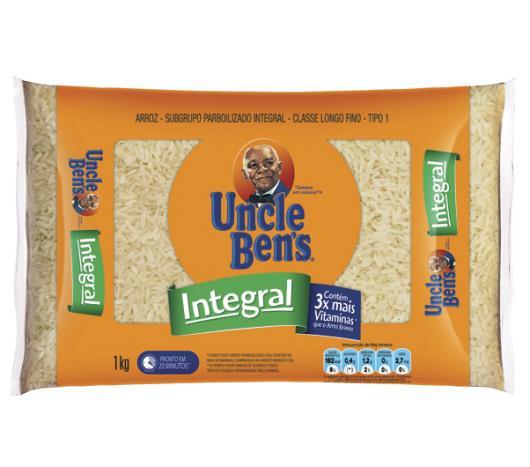 Arroz Integral Parboilizado Uncle Ben's 1 kg - Imagem em destaque