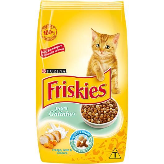 Ração para gatos Friskies sabor frango, cenoura e leite  1kg - Imagem em destaque