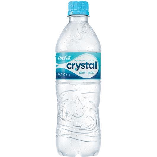 Água mineral Crystal Pet sem gás 500ml - Imagem em destaque