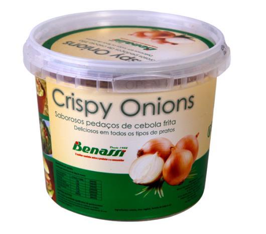 Cebola frita crispy onion Benassi 100g - Imagem em destaque